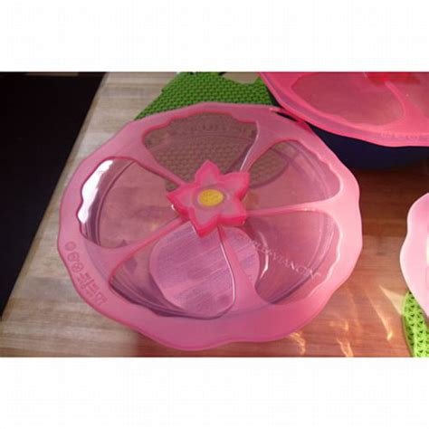 charles viancin hibiscus flower silicone lid bedbathhomecom