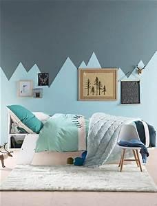 17 meilleures idees a propos de peinture geometrique sur for Tapis chambre enfant avec housse de couette scandinave gris
