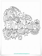 Brownies Brownie Doodle Owl Scouts Scout Guides Activities Toadstool Meeting Guide Badges Sparks Songs Lee Printables Coloring Colouring Promise Pages sketch template