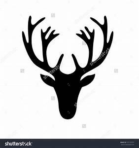 deer head silhouette - Google Search | Sgrafitto ...