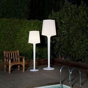 Lampadaire Exterieur Terrasse : lampadaire ext rieur terrasse eclairage ext rieur ~ Teatrodelosmanantiales.com Idées de Décoration