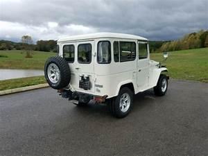 1981 Toyota Land Cruiser Bj41 Fj40 2b Diesel Has A  C For