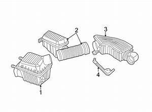 Dodge Intrepid Engine Air Intake Resonator  2 7 Liter
