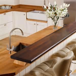 kitchen island breakfast table solid wood breakfast bar worktops kitchen breakfast bars
