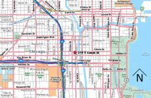 Union Station Chicago Map