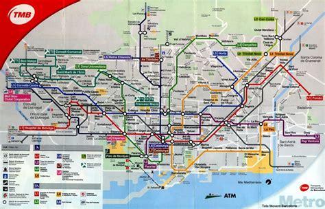 het openbaar vervoer  barcelona