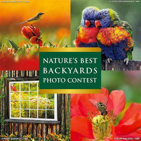 2017 Nature's Best Backyards Photo Contest  Photo Contest