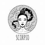 Zodiac Coloring Scorpio Signs Printable Horoscope Adult Symbol 30seconds Artwork Oct Horoscopes Calendar Books Drawing November Mom Nov October Tip sketch template