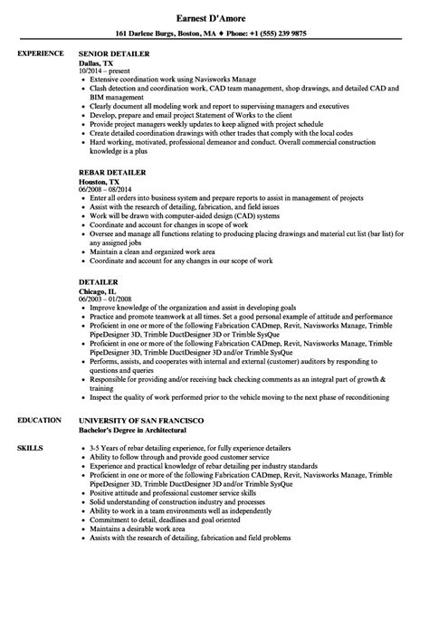 Detailer Resume Samples  Velvet Jobs. Special Skills For Nursing Resume. Freshers Resume Samples. Sample Resume Retail. Format Sample Of Resume. Free Resume Builder Online Printable. Federal Resume Guidebook 5th Edition. Sale Associate Resume Sample. Google Docs Resumes