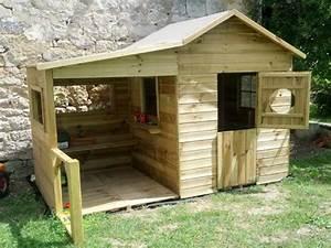 Construire Cabane De Jardin : fabriquer une cabane en bois avec des palettes ~ Zukunftsfamilie.com Idées de Décoration