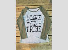 LOVE MY TRIBE Printed TShirt Fairyseason