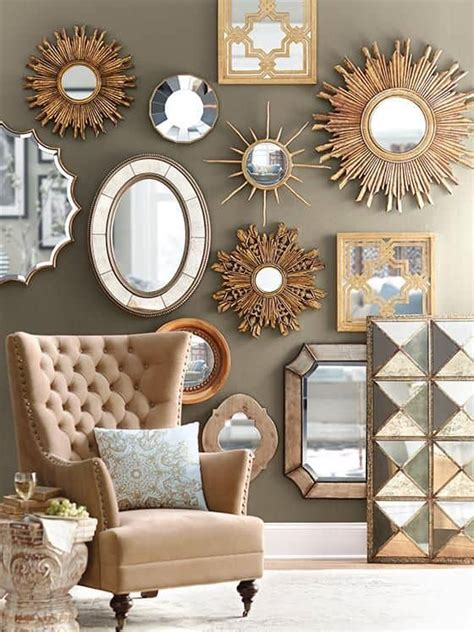 inovative ideas  mirrors  wall art