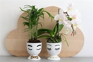 Pot Pour Plante : diy petits pots chics pour plantes de choc les jolis mondes ~ Teatrodelosmanantiales.com Idées de Décoration