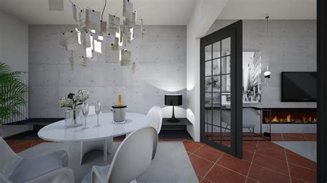 Ingresso Di Casa Moderno Restyling Moderno Di Ingresso E Soggiorno Interiorbe