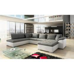 Canape dangle panoramique alia en u contemporain 6 a 7 places for Tapis d entrée avec natuzzi canape lit