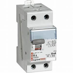 Disjoncteur Pour Vmc : interrupteur diff rentiel legrand 30 ma 40 a ac leroy ~ Premium-room.com Idées de Décoration