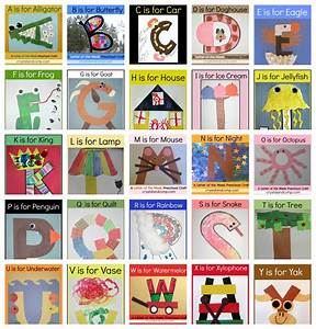 Letter of the week crafts for Letter art ideas