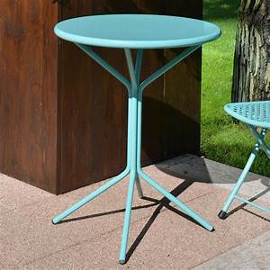 Runder Tisch 60 Cm : rig83 runder tisch aus metall durchmesser 60 cm in verschiedenen farben verf gbar f r garten ~ Bigdaddyawards.com Haus und Dekorationen