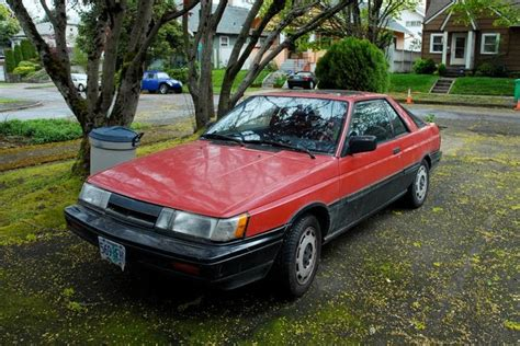 old nissan coupe old parked cars 1988 nissan sentra se sport coupe
