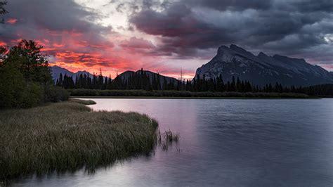 5120x2880 Alberta Canada Lake 5k Wallpaper Hd Nature 4k