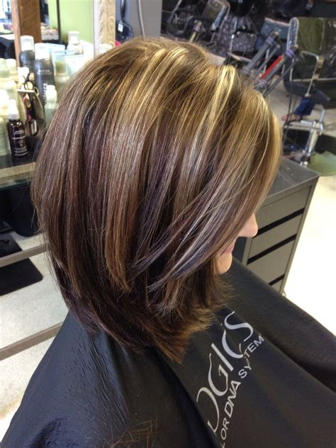 And Brown Highlights Hairstyles by Highlights And Lowlights By Trisha Fringe Salon Lennon Mi
