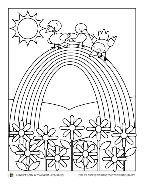 rainbow coloring pages  adults  getcoloringscom  printable colorings pages  print