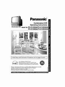 Pv-c1333wa Manuals