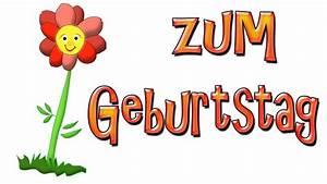 Geburtstagsbilder Zum 60 : mit dieser geburtstagsblume gratulieren wir dir zum geburtstag youtube ~ Buech-reservation.com Haus und Dekorationen