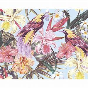 Wals0387, -, Tropical, Exotic, Flowers, Wall, Mural