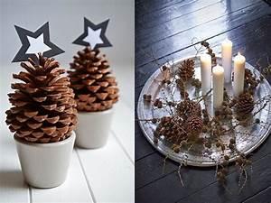 Que Faire Avec Des Pommes De Pin Pour Noel : 12 id es d co avec des pommes de pin pour no l joli place ~ Voncanada.com Idées de Décoration
