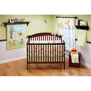 disney baby pooh s playful day 4 piece pooh bedding set