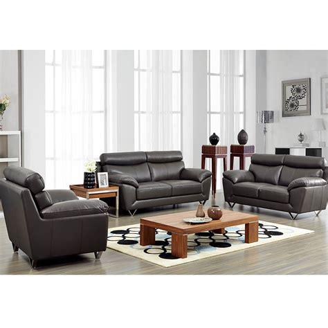 modern leather living room sofa set  noci design