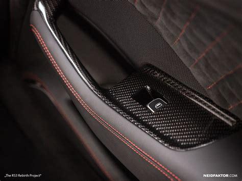 Alcantara Vs Leder by New Audi Rs3 Gets Carbon Fiber And Alcantara Interior From