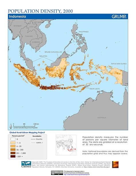 maps population density grid  sedac