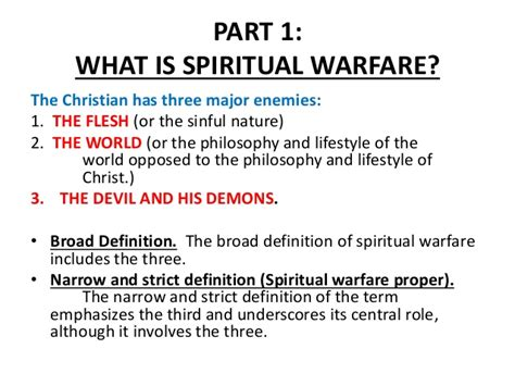 what is the definition of siege spiritual warfare lesson 1