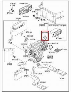 hyundai 2005 2009 tucson hvac heater blend door actuator With hyundai sonata ac