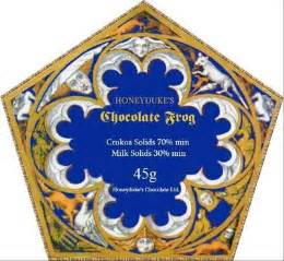 Chocolate Frog Card Template