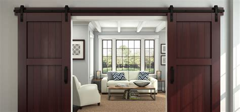 sliding doors  functional interior design pieces