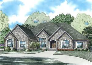 European Style House European Style House Plans 3766 Square Foot Home 1 Story 4 Bedroom And 4 Bath 3 Garage