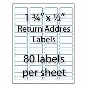 bulk return address labels averyr compatible stik2itcom With avery 5267 label template
