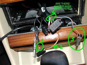 Help  With Radio Wiring W126