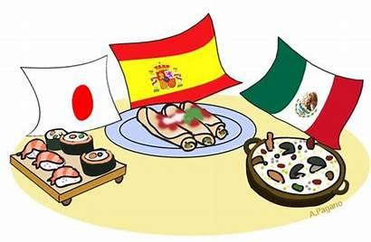 Clipart Multicultural Culture Potluck Ethnic Clip International