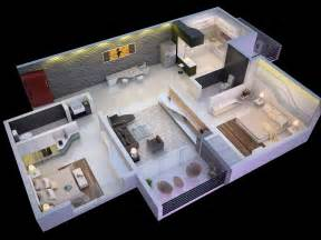 2 bedroom open floor plans 25 more 2 bedroom 3d floor plans