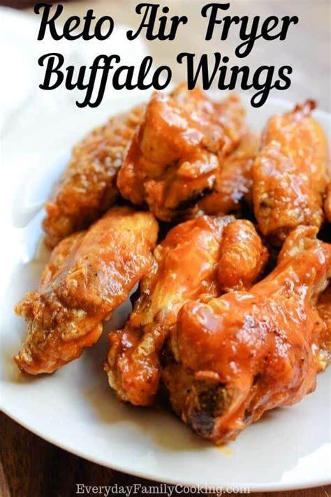 fryer wings air chicken keto sauce buffalo franks wing crispy frank recipes recipe cook gluten long carb low