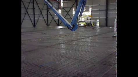 Warehouse Concrete Floor Pouring & Placement / Slab 1 Part
