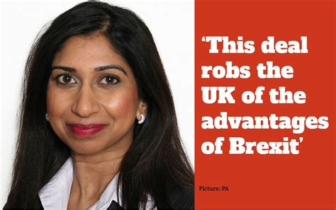 Junior Brexit minister Suella Braverman becomes latest to ...