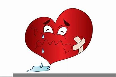 Broken Heart Clipart Cartoon Animated Clip Cliparts