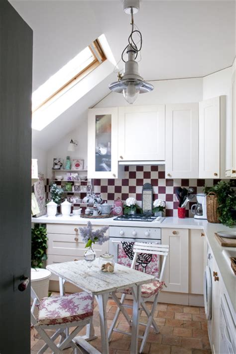shabby chic country kitchen french country home