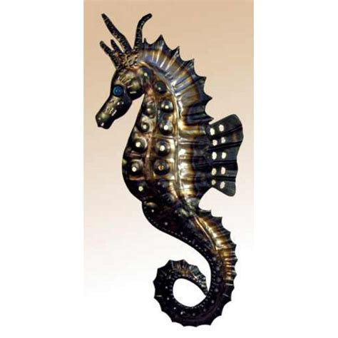 seahorse wall sconce