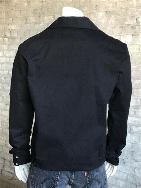 rockmount ranch wear mens vintage western jacket gabardine floral embroidered bolero  outwest